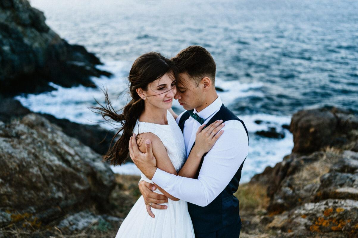 Тадей и Траяна на Нос Агалина Сватба