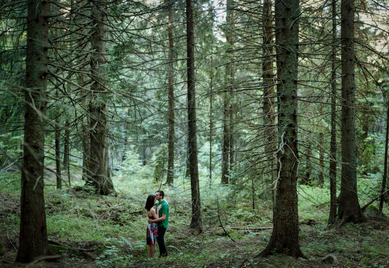 Романтична фотосесия планина Витоша